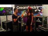 Creamfields TV 2013 Eddie Halliwell Interview