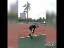 Serve tennis.Большой теннис подача