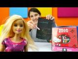 Barbie ile renkli alışveriş listesi yapıyoruz. Tebeşir oyunu. #Kızoyunları