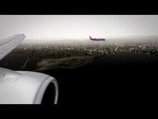 Parallel Landings at San Francisco KSFO [FSX HD]