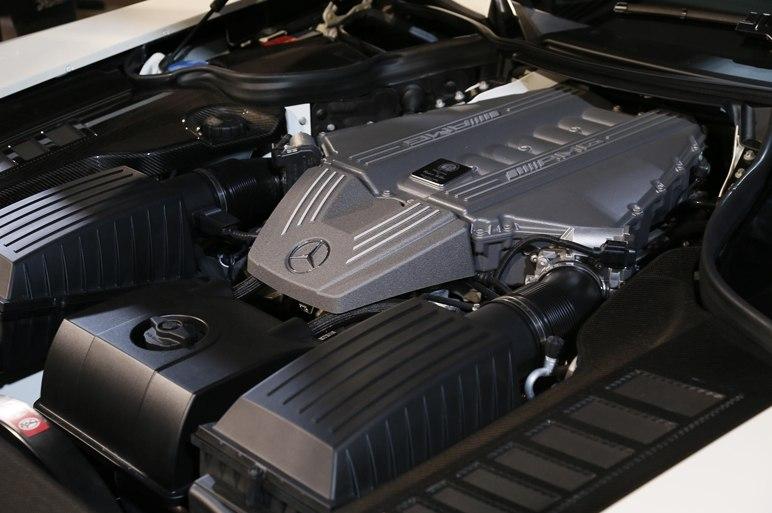 Двигатель SLS 63 AMG 2013