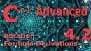 Advanced C Programming Tutorial 4 2 Rotation Formula Derivation s