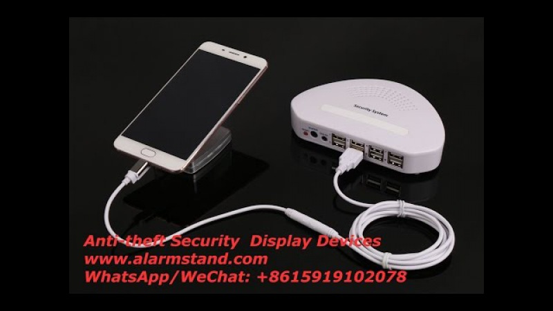 COMER Anti-Theft Security Alarm controller Display systems for Phone/Tablet stands Retail Shops