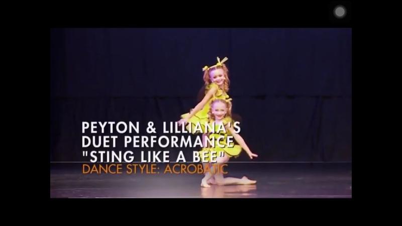 Dance Moms: Peyton Lillianas Duet Sting Like A Bee (Season 6 episode 31)