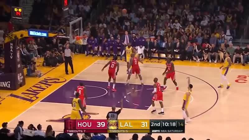 Los Angeles Lakers vs Houston Rockets Full Game Highlights ¦ 10 20 2018 NBA Season