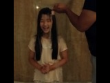 [140824] Hong Hwa Ri nominated Kim Tae Hee for ALS Ice Bucket Challenge.