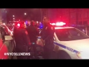 NYPD Action Perp Resisting Arrest After Fight