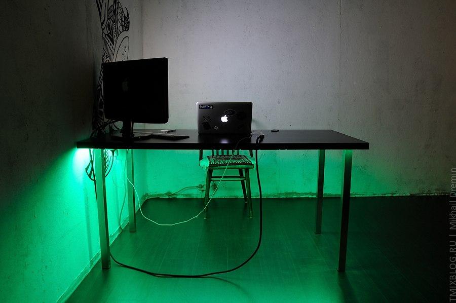 Светодиодная лента компьютера своими руками 7