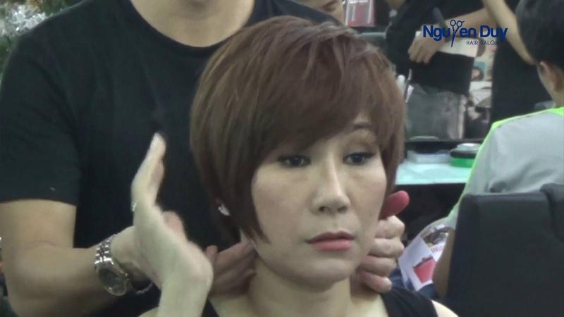 Kỹ thuật cắt tóc ngắn với nhà tạo mẫu tóc Nguyễn Duy