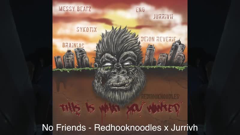 "Redhooknoodles Hard Backstab Betrayal ""No Friends"" hip-hop beat {rap} Instrumental 2017"