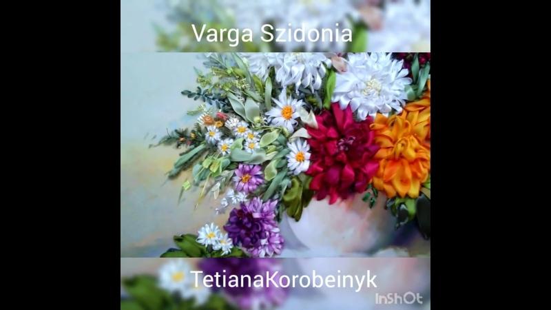 Работа Татьяны Коробейник по картине Varga Szidonia