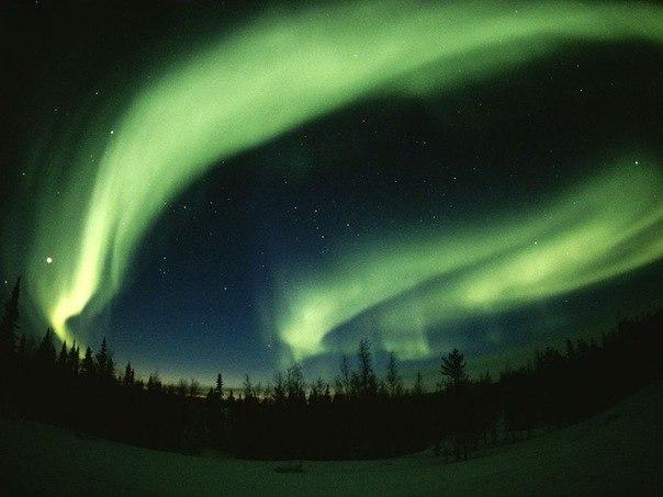 Северное сияние, Канада
