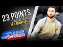 Stephen Curry Full Highlights 2018.10.10 Golden State Warriors vs Lakers - 23-5! | FreeDawkins