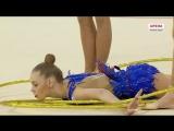 Сборная команда России в групповых упражнениях - 5 обручей Q 22.500