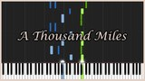 A Thousand Miles - Vanessa Carlton Piano Tutorial (Synthesia) Mr.Meeseeks Piano