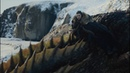 Дейенерис учит Джона летать на драконах. Игра престолов