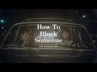 How to Block Someone #how #block #facebook #useful #app #tv #instruction