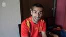 DESDE DENTRO | Jonny se enfunda la camiseta de la Selección española