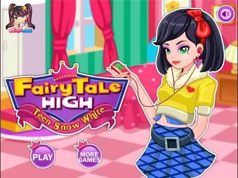 Fairy Tale High Teen Snow White (Фейри Тейл Хай: Подросток Белоснежка) - прохождение игры