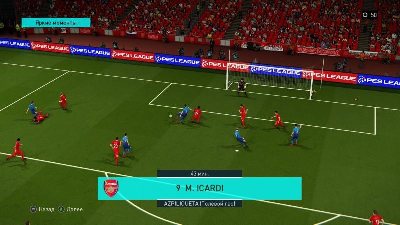 Icardi vs Cech