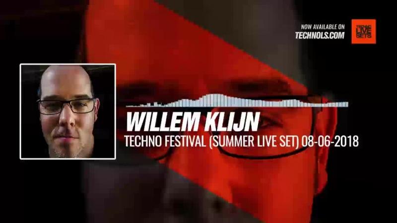 Techno music with WILLEM KLIJN @SfeerBeheer1973 - TECHNO FESTIVAL (Summer Live Set) Periscope