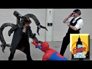 Doctor Octopus at London Super Comic Con 2014