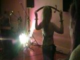 Roisin of Apollonia with her beloved Sword.....in Ten Piece Metric Costume.....