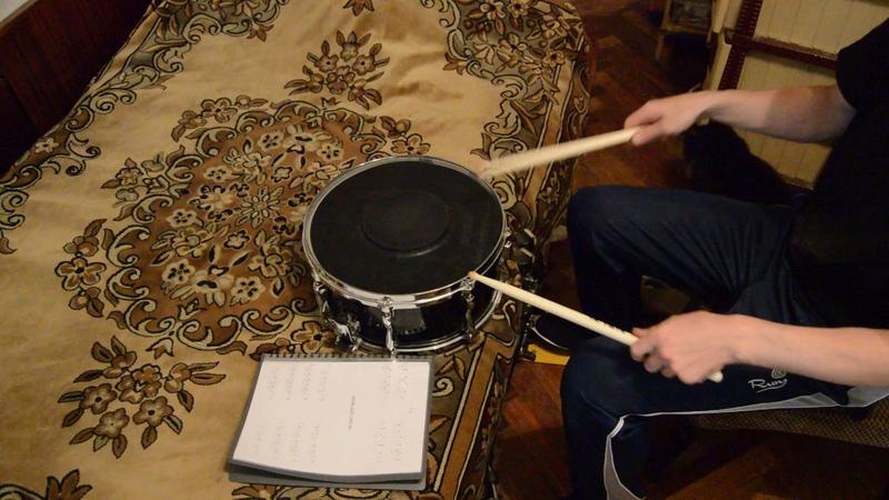 Ремонт двойной педали для бас барабана (Фрагмент 9)