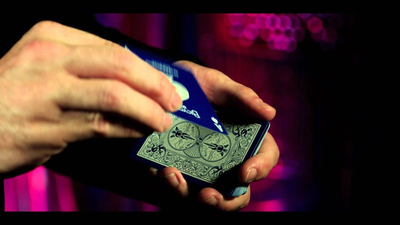 Reversed Back Bicycle Deck - Blue-Bicycle Blue Ice Deck (Страна производитель: США)