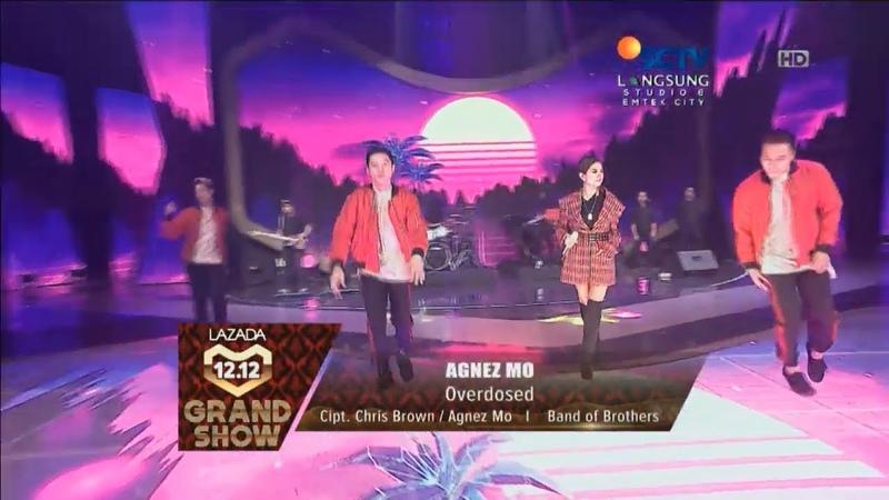 Agnez Mo - Overdose Live Lazada Indonesia 12.12 Grand Show HD 720p