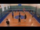 Любительский волейбол, блок, нападение.