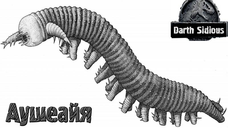 Развитие жизни на Земле (The Evolution of Life) - Аушеайая (Aysheaia)