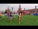 Danza Selvatica Peruana en la Plaza Roja de Moscu Mundial 2018