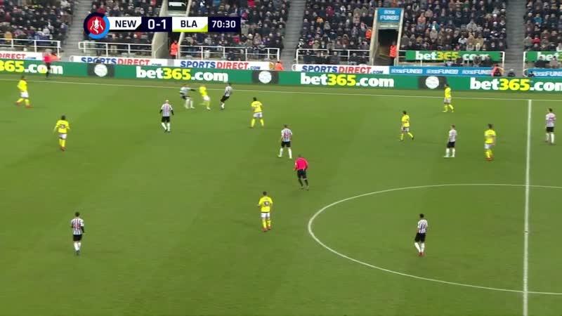 Кубок Англии Ньюкасл - Блэкберн Роверс 2-й тайм