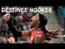 Destinee Hooker - Volleyball Legend. London 2012. Womens Volleyball.