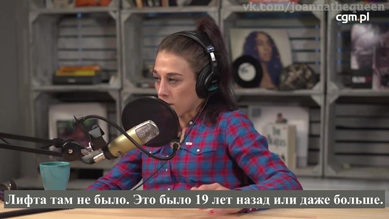 Red czerwona kartka podcast with joanna jedrzejczyk 22 09 2018
