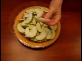 Рецепт - Постный пирог-галета с яблоками