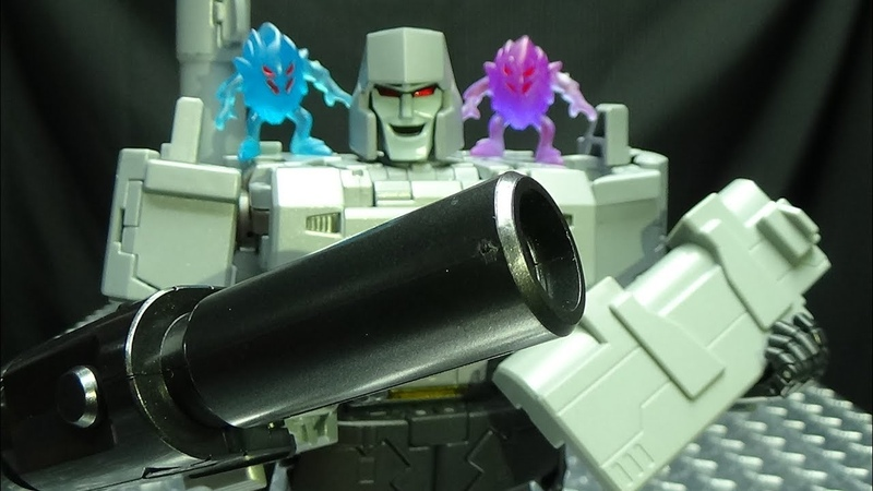 Modfans/Black Mamba Upgrade for Masterpiece Megatron: EmGo's Transformers Reviews N' Stuff