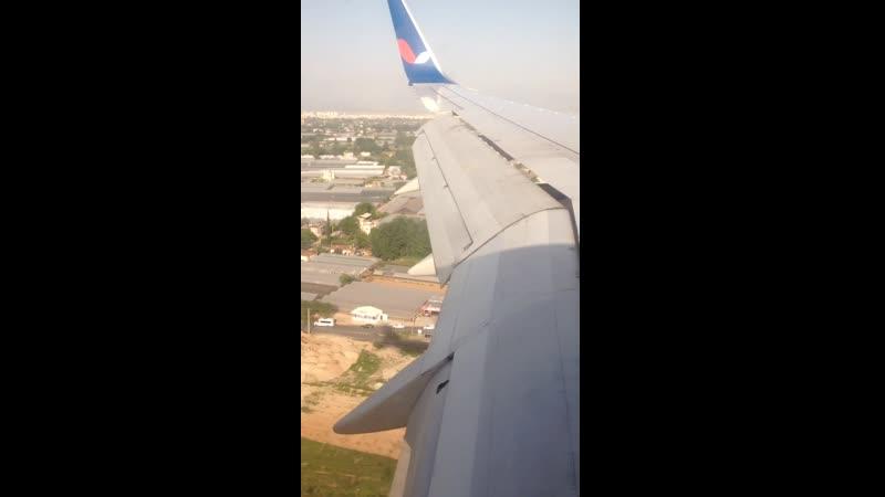 Boeing 757 200 VQ BEZ а к Azur Air посадка в аэропорту Анталья Рейс Уфа Анталья