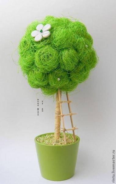 Деревья своими руками с яблоками
