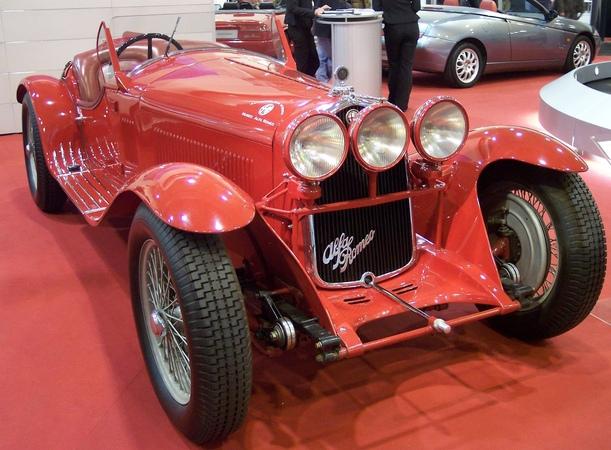 Alfa Romeo 8C 2300 Mille Miglia, Alfa Romeo Museum, Arese, Lombardy, Italy, Europe