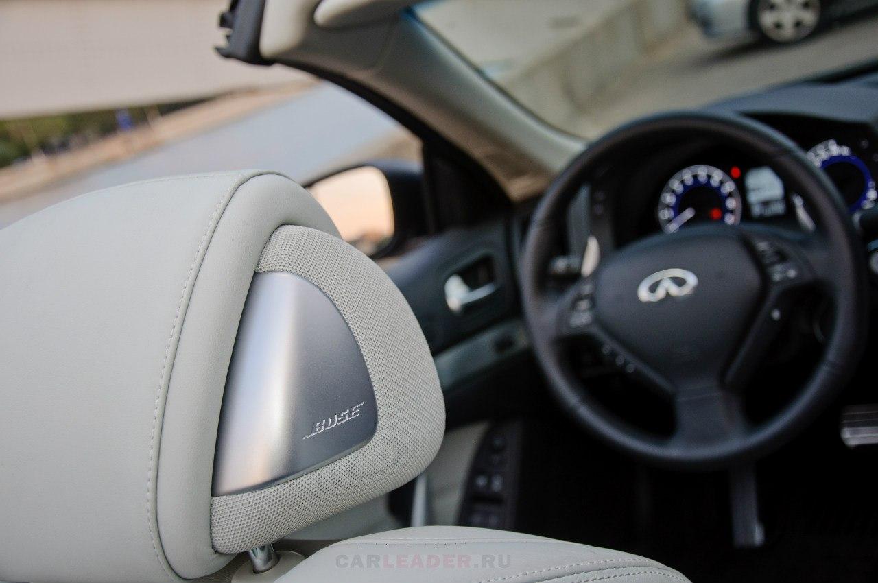Bose Infiniti G37 cabrio