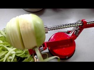 чистилка и нарезалка яблок