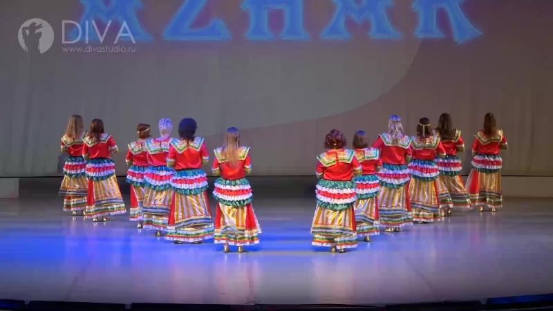 Алжирский танец Кабильский коллектив АЗХАР хореограф Коробейникова Елена