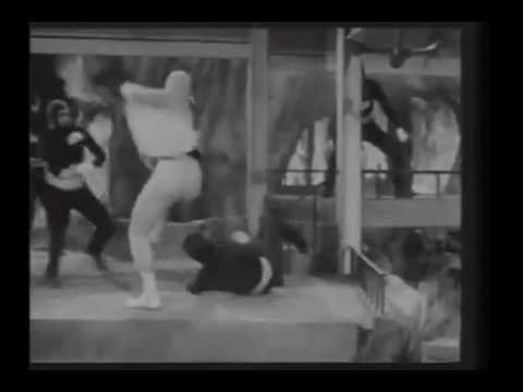 STARMAN VS. THE EVIL BRAIN AND THE INVADERS FROM OUTER SPACE - clip 2