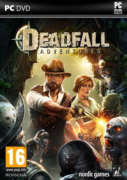 Deadfall Adventures logo, coverart, логотип, картинка