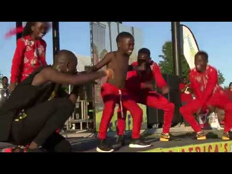 Triplets Ghetto kids Eddy Kenzo First performance in Canada Afro fest 2018