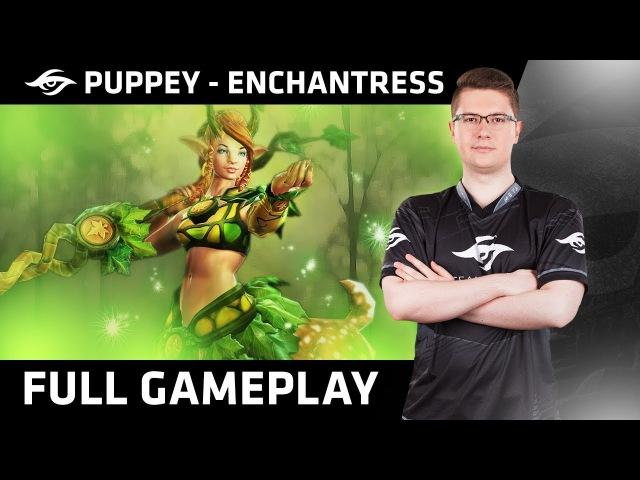 Dota 2 | Team Secret™ - Puppey Plays Enchantress | Ranked MMR Gameplay
