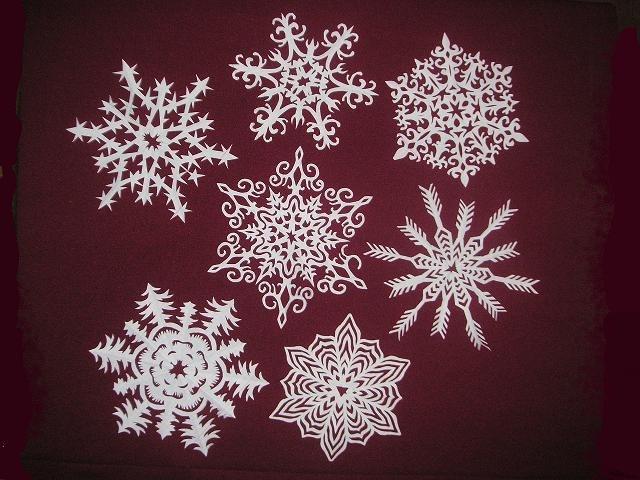 Сніжинки до Нового Року