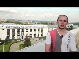 Финалист проекта «ТОП-100 лучших выпускников» Никодим Подрез с любовью к «политеху»!